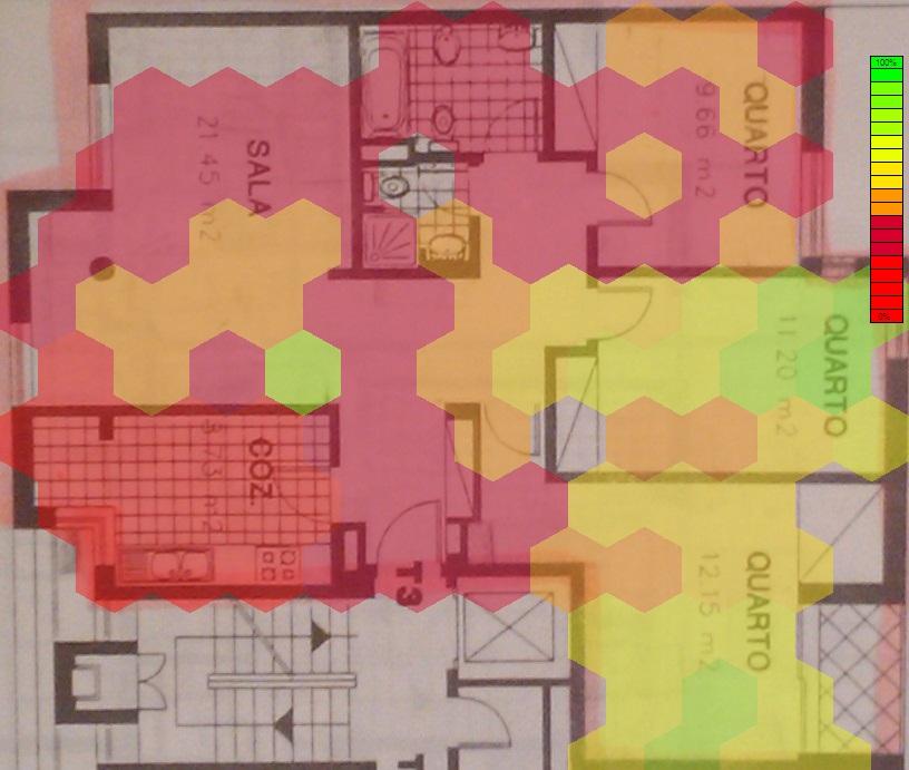 Mapeamento de Sinal Wireless / Wireless Signal Mapping (1/3)