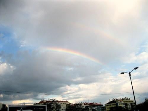 Arco-Íris, por mim
